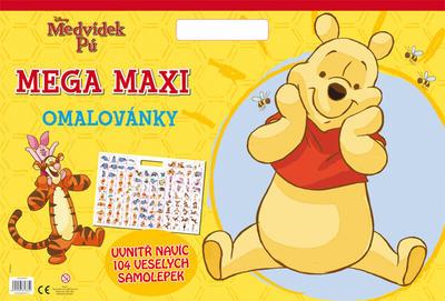 Obrázok Medvídek Pú Mega maxi omalovánky