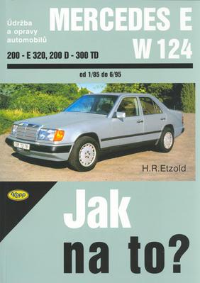 Obrázok Mercedes E-W 124  200 - E-320, 20D - 300TD od 1/85 do 6/95