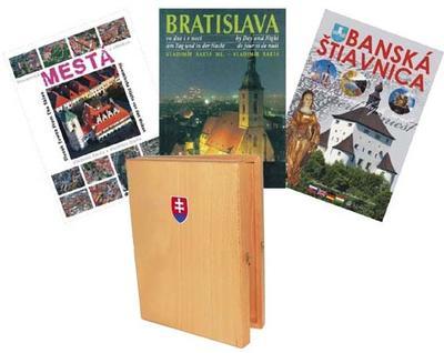 Mestá Slovenska – darčekový set