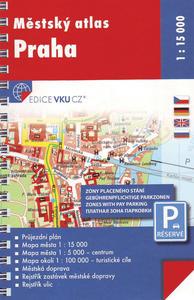 Obrázok Městský atlas Praha 1 : 15 000