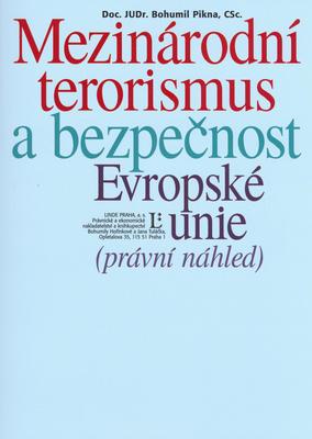 Obrázok Mezinárodní terorismus a bezpečnost Evropské unie