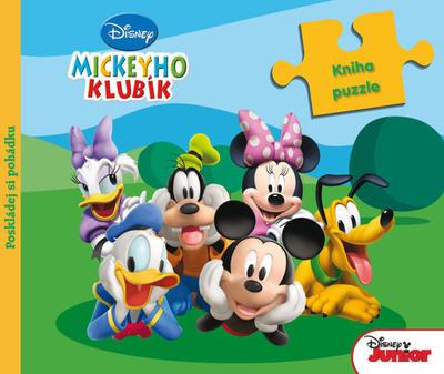 Obrázok Mickeyho klubík Kniha puzzle