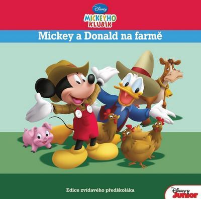 Obrázok Mickeyho klubík Mickey a Donald na farmě