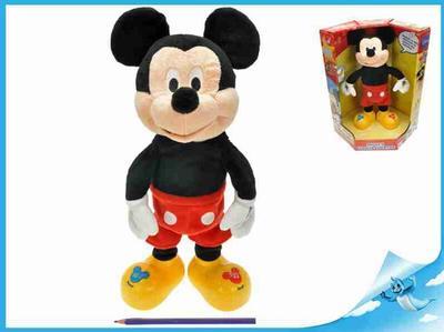 Obrázok Mickey Mouse plyšový, česky mluvící a zpívající