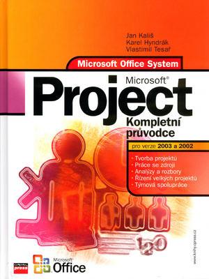 Obrázok Microsoft Project Kompletní průvodce pro verze 2003 a 2002