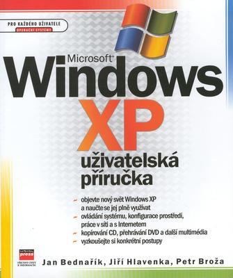 Obrázok Microsoft Windows XP uživatelská příručka
