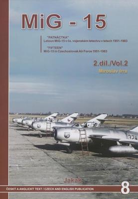Obrázok MIG-15 v Čs. vojenském letectvu v letech 1951-82 2. díl