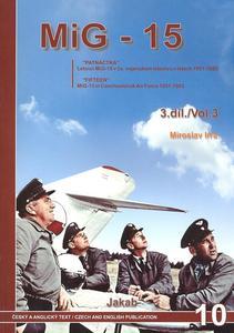 Obrázok MIG-15 v Čs. vojenském letectvu v letech 1951-83 3. díl