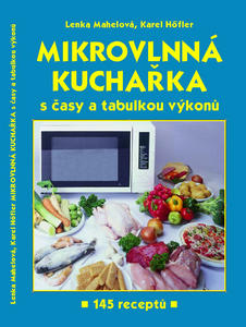 Obrázok Mikrovlnná kuchařka s časy a tabulkou výkonů