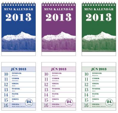Obrázok Minikalendár 2013