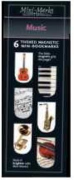 Mini mark záložky Music