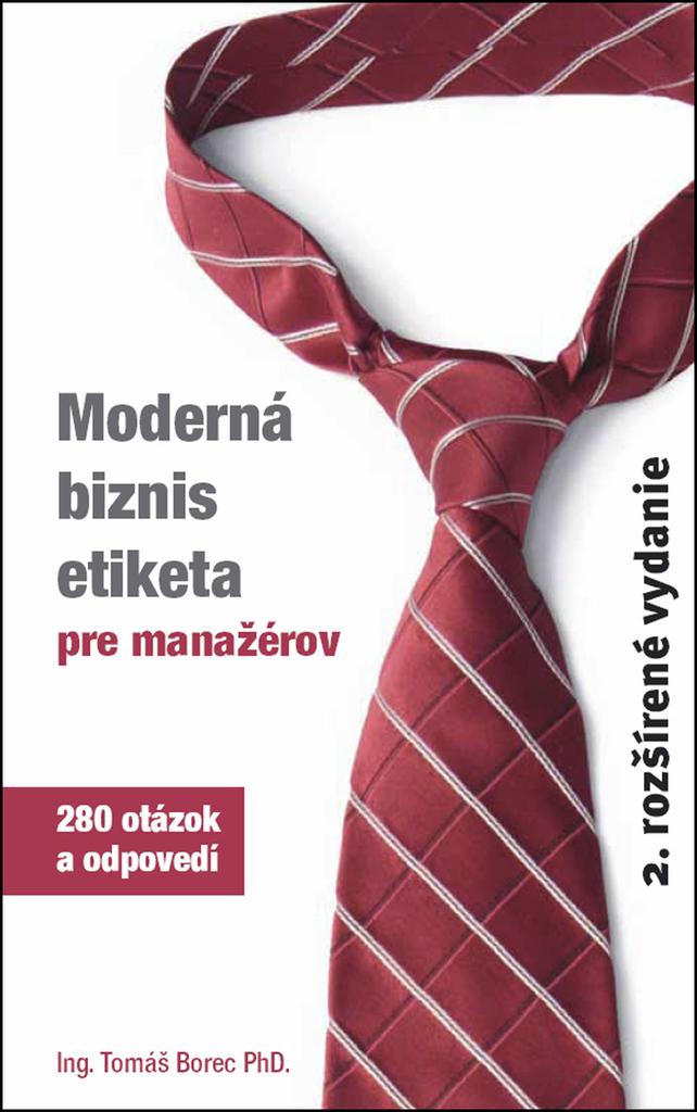 Neopublic Moderná biznis etiketa pre manažérov - Tomáš Borec