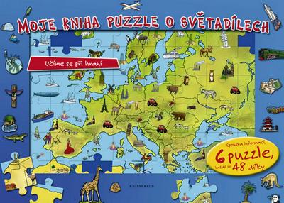 Obrázok Moje kniha puzzle o světadílech
