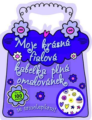Obrázok Moje krásná fialová kabelka plná omalovánek