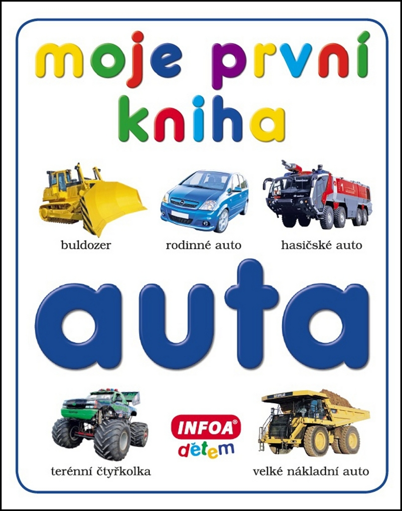 Moje první kniha Auta