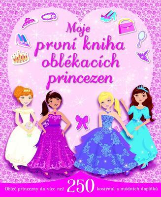 Obrázok Moje první kniha oblékacích princezen