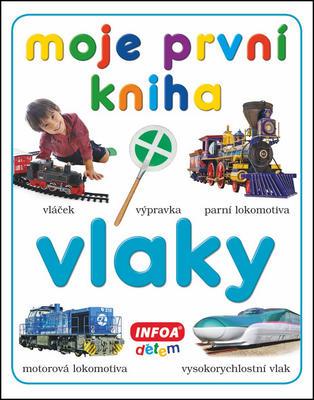 Obrázok Moje první kniha Vlaky