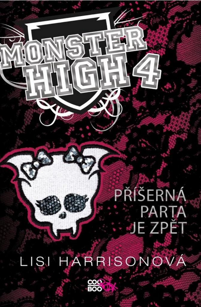 Monster High 4 Příšerná parta je zpět - Lisi Harrisonová