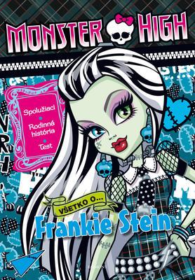 Obrázok Monster High Všetko o Frankie Stein