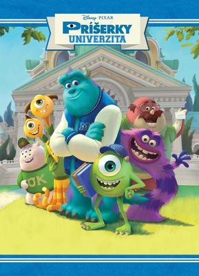 Obrázok Monsters University Filmový príbeh (So samolepkami)