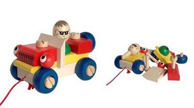 Obrázok Montážní auto mrkací