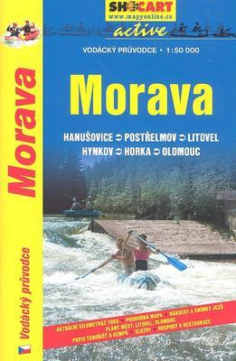 Obrázok Morava vodácký průvodce 1:50 000