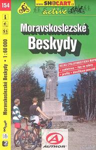 Obrázok Moravskoslezské Beskydy 1:60 000