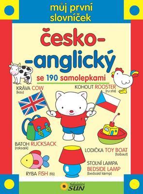Obrázok Můj první slovníček česko-anglický se 190 samolepkami