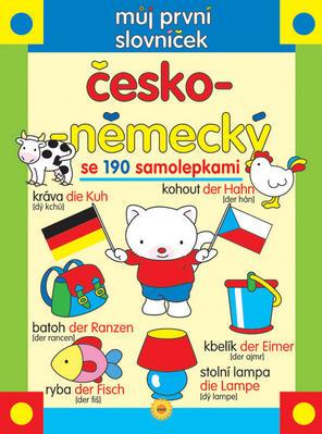 Obrázok Můj první slovníček česko-německý se 190 samolepkami