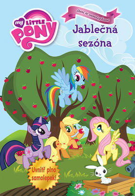 Obrázok My Little Pony Jablečná sezóna Čtení se samolepkami