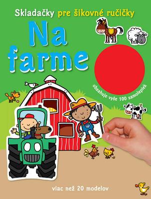 Obrázok Na farme Skladačky pre šikovné ručičky