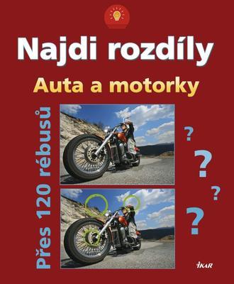 Obrázok Najdi rozdíly Auta a motorky