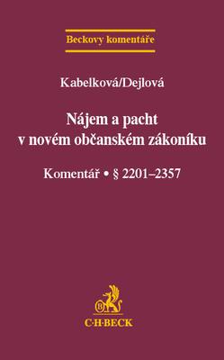 Obrázok Nájem a pacht v novém občanském zákoníku