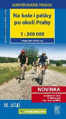 Na kole i pěšky po okolí Prahy 1:200 000