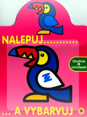 Obrázok Nalepuj a vybarvuj Papoušek