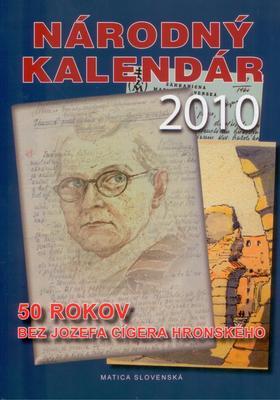 Obrázok Národný kalendár 2010