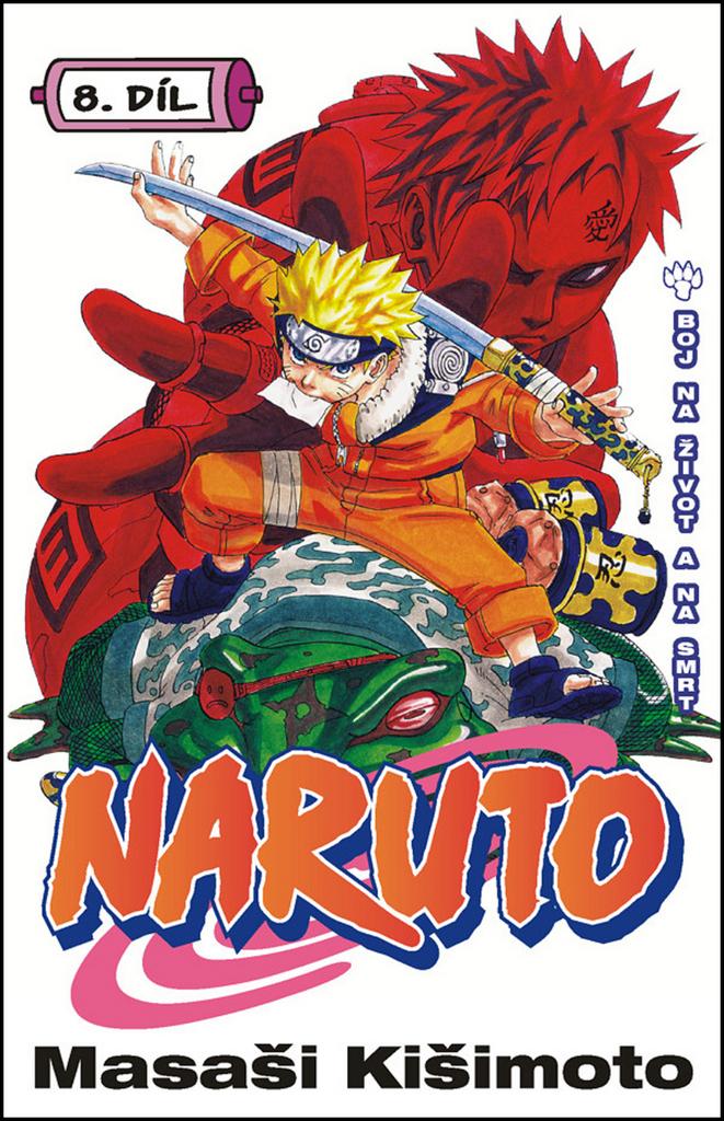 Naruto 8 Boj na život a na smrt - Masaši Kišimoto