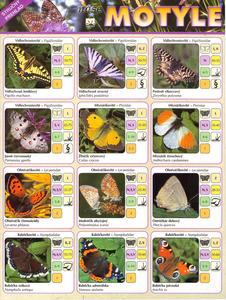Obrázok Naše motýle