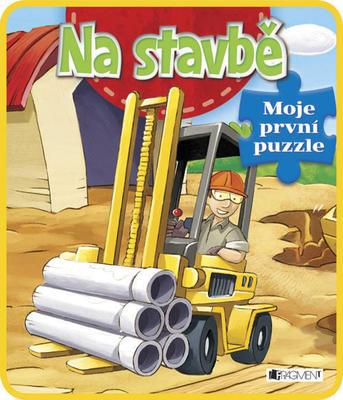 Obrázok Na stavbě Moje první puzzle