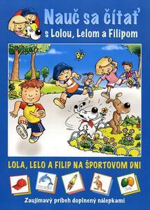 Obrázok Nauč sa čítať s Lolou. Lelom a Filipom