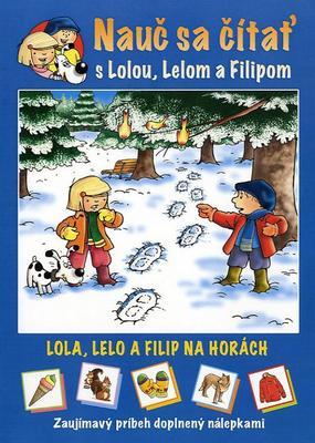 Obrázok Nauč sa čítať s Lolou, Lelom a Filipom