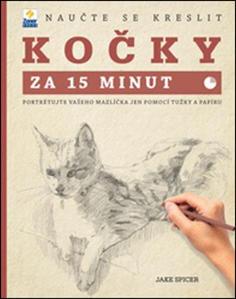Obrázok Naučte se kreslit Kočky za 15 minut