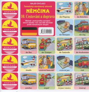 Obrázok Němčina 10.Cestování a doprava