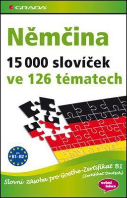 Obrázok Němčina 15 000 slovíček ve 126 tématech