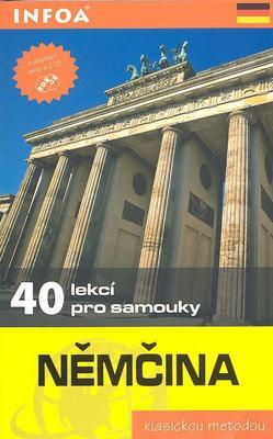 Obrázok Němčina - 40 lekcí pro samouky - kniha + 2 CD