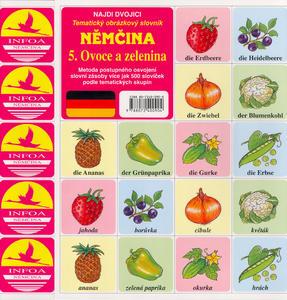 Obrázok Němčina  5. Ovoce a zelenina