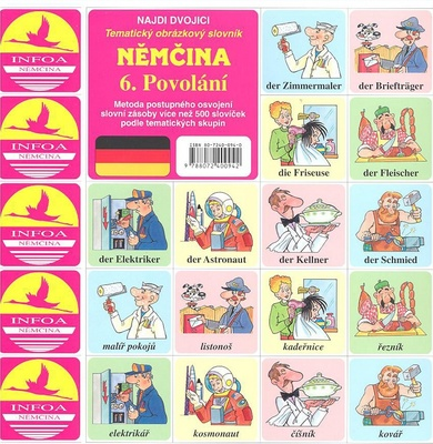 Obrázok Němčina  6. Povolání