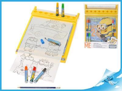 Obrázok Mimoň kreslící tabulka s fixami Minions v blistru