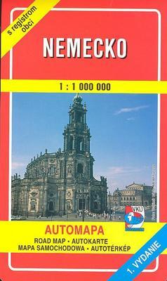 Obrázok Nemecko 1:1 000 000