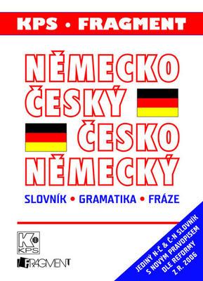 Obrázok Německo český česko německý slovník, gramatika, fráze (velký plast)